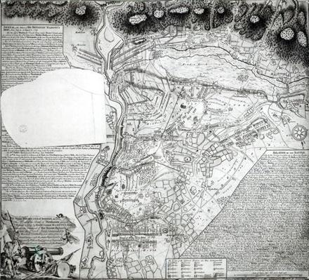 Plan of the Battle of Minden, drawn by Captain William Roy and engraved by Thomas Major, 1760