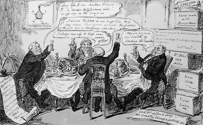 Cholera Consultation at The Central Board of Health, published on Feb 27th 1832