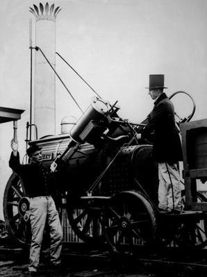 Replica of Stephenson's Rocket, 1929