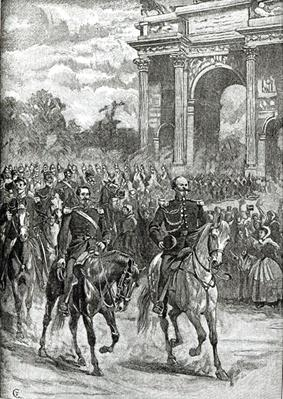 The entry of Napoleon III and Victor Emmanuel into Milan