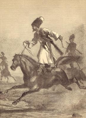 A Cossack Horseman