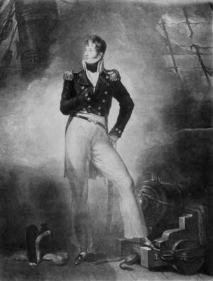 Admiral Thomas Cochrane, 10th Earl of Dundonald, engraved by Charles Turner, 1809
