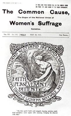 Faith, Perseverance, Patience, 1911