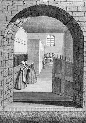 The Manner of John Shepherd's escape out of the Condemned Hole in Newgate, 1724