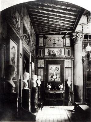 Interior of Prince Napoleon's Palais Pompeian
