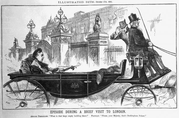 Episode During a Brief Visit to London, October 17th 1885
