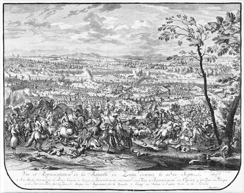 The Battle of Zenta, 1697