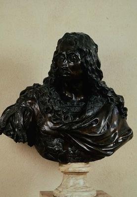 Portrait bust of Louis II