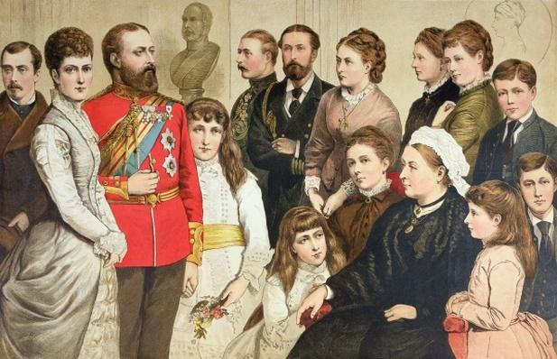 The Royal Family, 1880