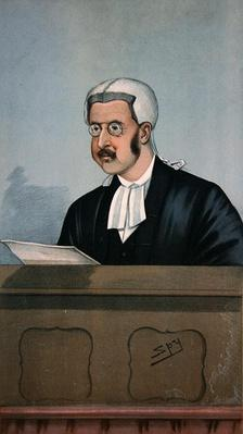 A Judicial Churchman, from 'Vanity Fair', 24th November 1898