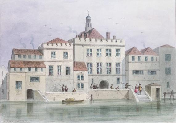 View of Old Fishmongers Hall, 1650