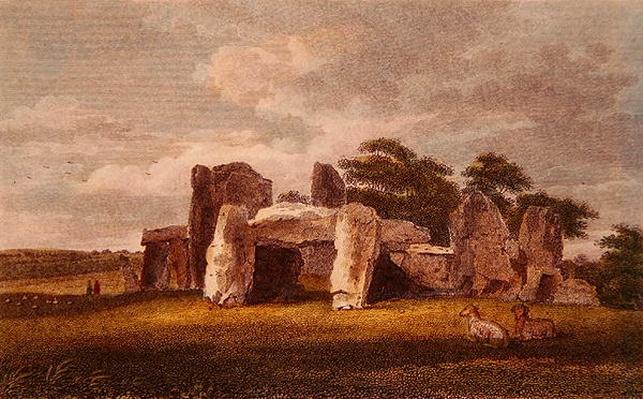 The Druids Temple at Park Place, October 1802