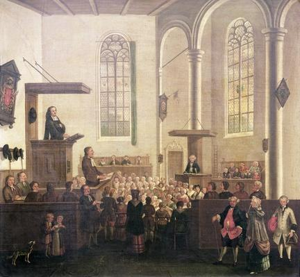 A Service in Old Cripplegate Church