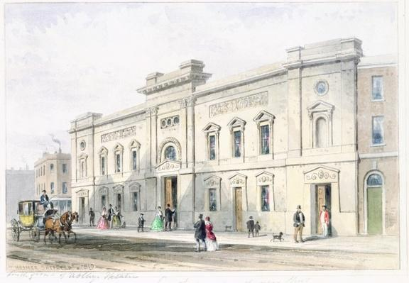 The New Front Astley's Theatre, c.1846