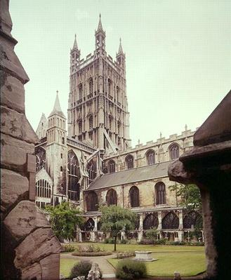 View of Gloucester Cathedral, 14th century