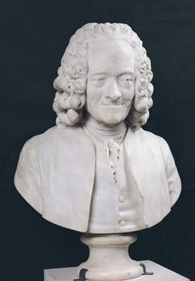 Bust of Francois Marie Arouet de Voltaire