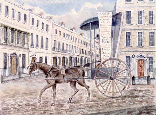 Astley's Advertising Cart