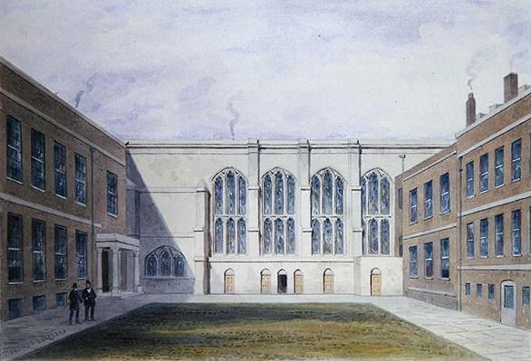 The Inner Court of Merchant Taylors' Hall, 1853