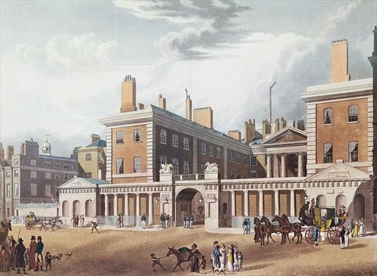 View of the Admiralty, 1818