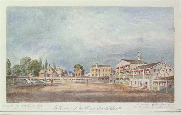 View of Astley's Amphitheatre, 1777