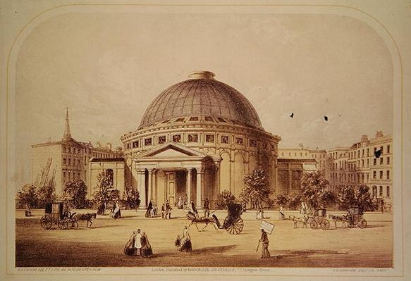 Wyld's Monster Globe, c.1851