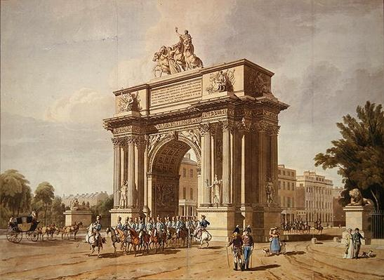 View of Wellington Arch