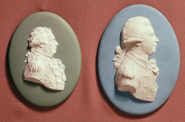 Wedgwood medallions of George IV
