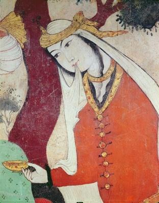 Woman from the Court of Shah Abbas I, 1585-1627
