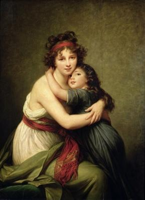 Madame Vigee-Lebrun and her Daughter, Jeanne-Lucie-Louise
