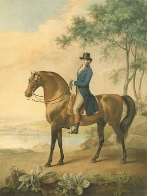Warren Hastings on his Arabian Horse, 1796