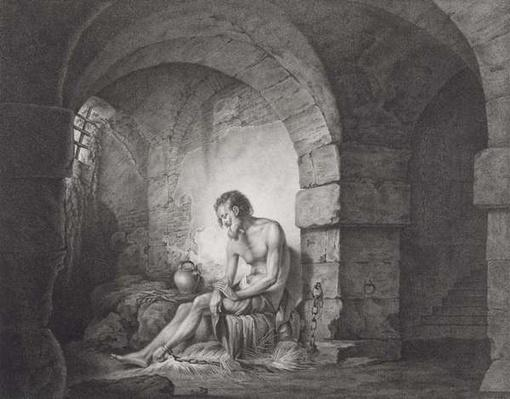 The Captive, engraved by Thomas Ryder