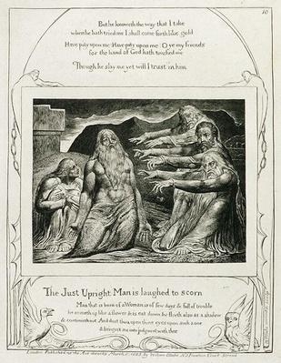 Plate 14, from 'Illustrations of the Book of Job', 1825