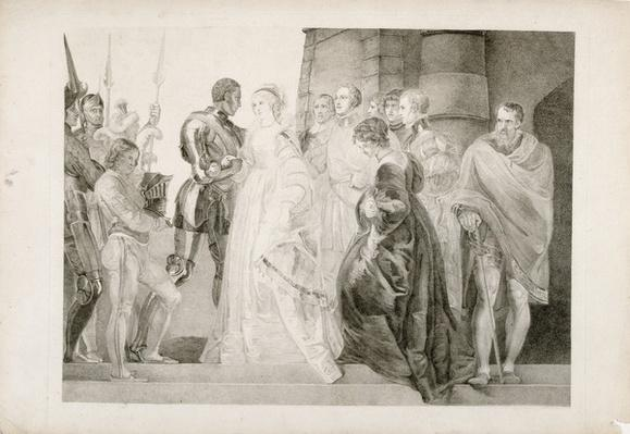 Othello, Act II, Scene I, engraved by Thomas Ryder