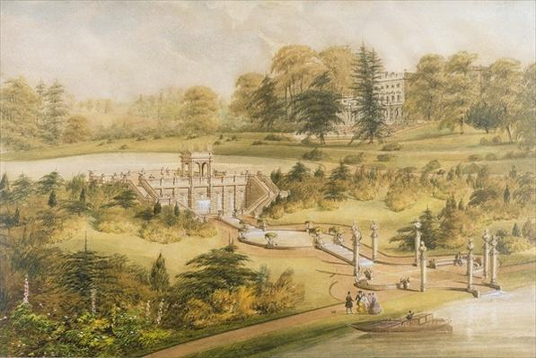 Design for Cowley Manor, c.1860