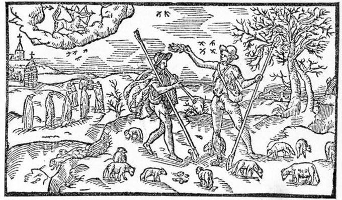 Month of November, from 'The Shepheardes Calender'by Esmond Spenser