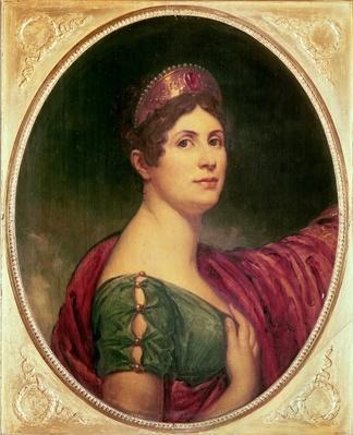Portrait of Empress Josephine