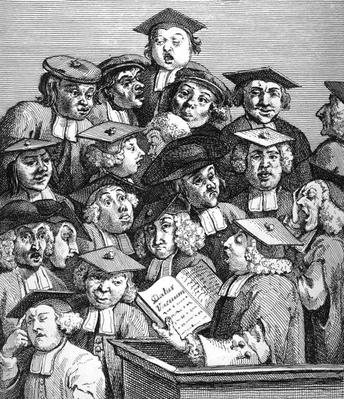 Scholars at a Lecture, 20th January 1736-37