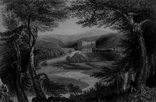 View of Drumlanrig Castle, Dumfrieshire