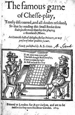 Famous Game of Chess, 1614