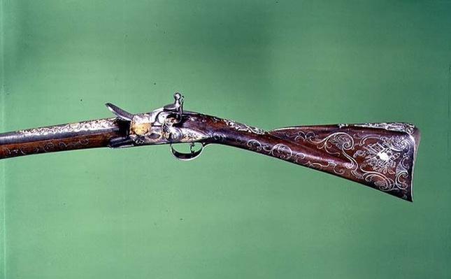 Flintlock fowling piece, by Wilson, 1749-50