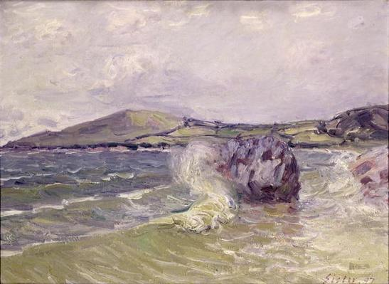 Lady's Cove, Wales, 1897