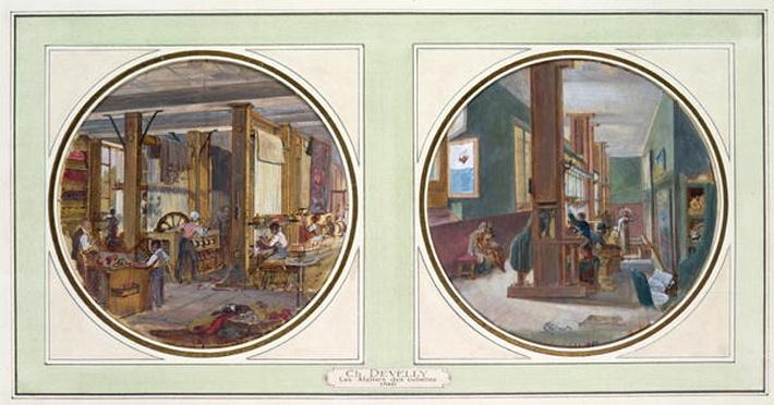 The Gobelins Workshop, 1840