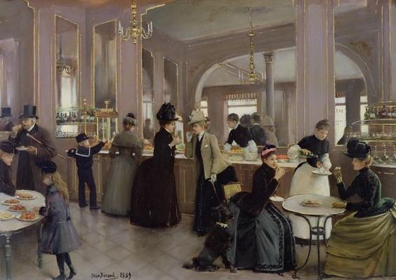 La Patisserie Gloppe, Champs Elysees, Paris, 1889