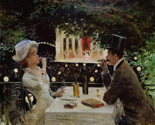 Dinner at Les Ambassadeurs, c.1882