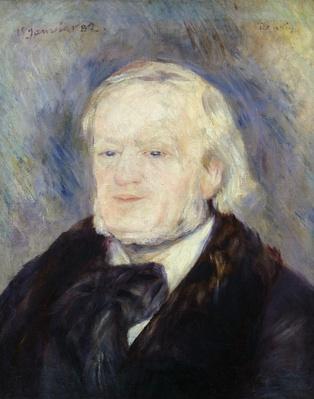 Portrait of Richard Wagner