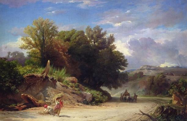 Landscape on the Outskirts of Rome, 1853