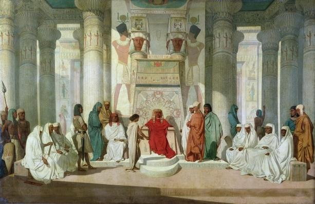 Joseph Explaining Pharaoh's Dreams