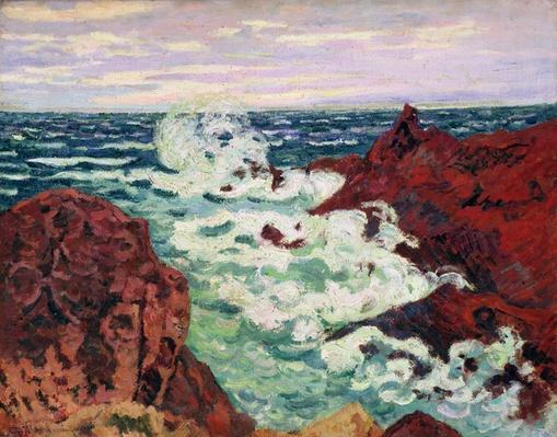 Storm at Agay, 1895