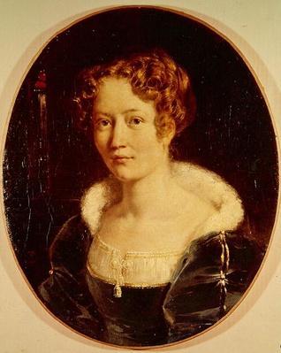 Portrait of Laure Deveria, c.1827