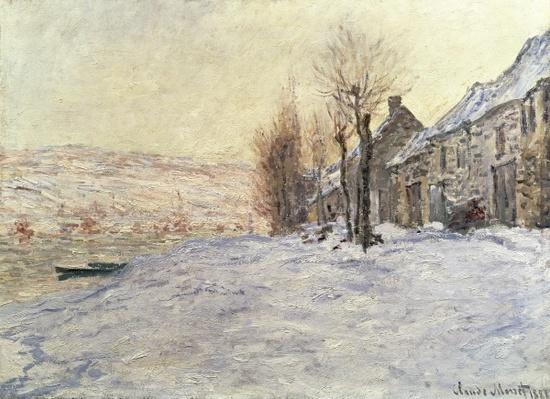 Lavacourt under Snow, c.1878-81
